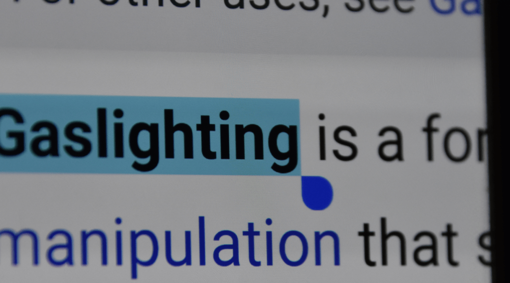 Gaslighting definition