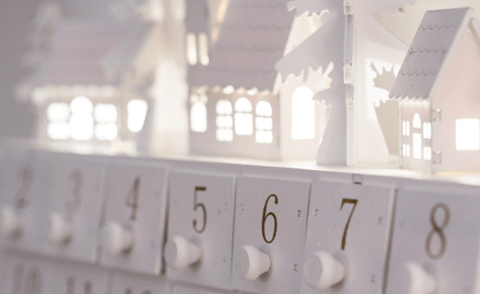 An Advent Calendar introducing an article about advent, the 2021 inauguration, and the spiritualization of learned helplessness