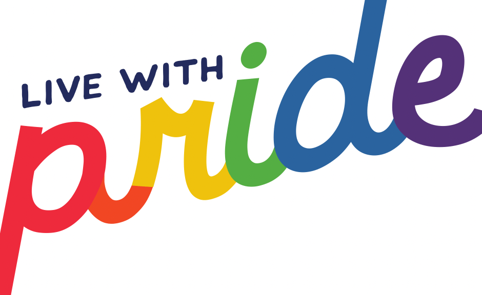 Live with Pride Text