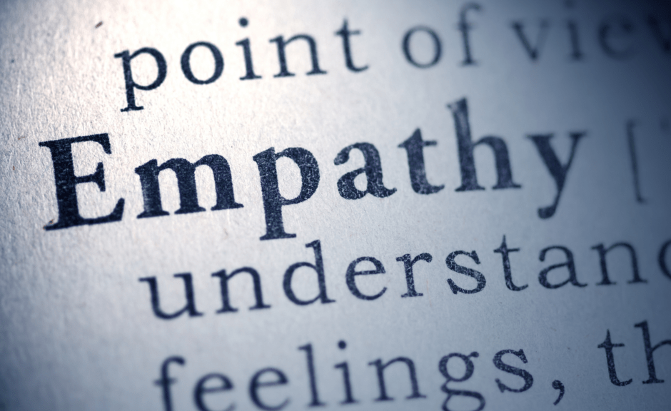 Definition of empathy, introducing an article about how humanism and empathy become right-wing religio-political devil terms